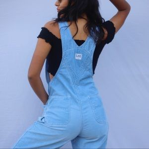 Other - Vintage Lee Corduroy Overalls